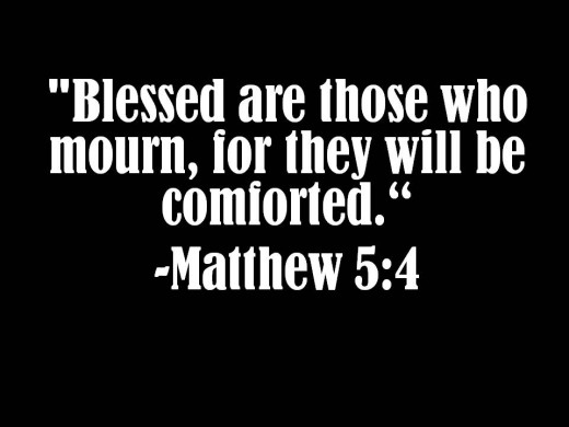 BLOG Blessed are those who mourn